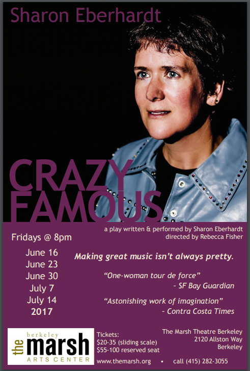 CrazyFamousPostcard front